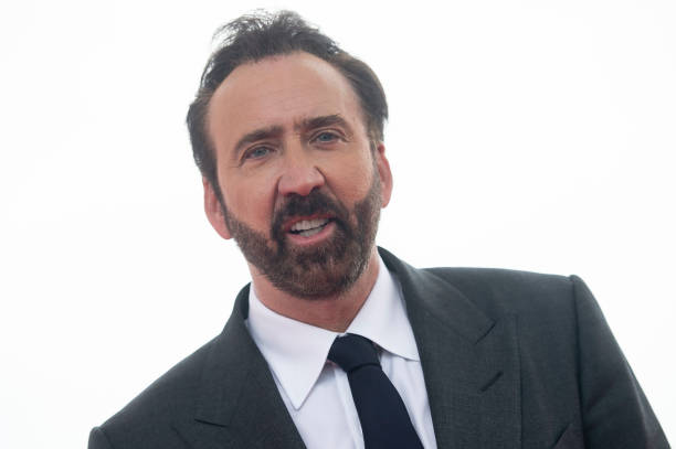 American actor Nicolas Cage at the photocall of Mandy during the 51 edition of Festival Internacional de Cinema Fantastic de Catalunya Sitges 2018 in...