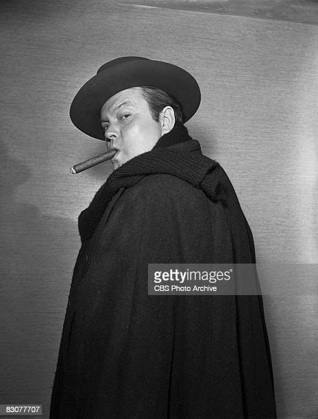 American actor Orson Welles stars in an episode of the live performance anthology series 'Ford Star Jubilee' New York February 29 1956 The episode...