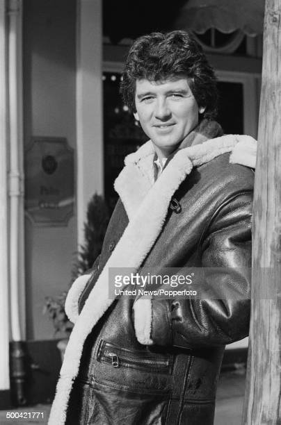 American actor Patrick Duffy from the American soap opera 'Dallas' in London on 6th November 1985