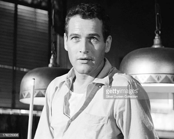 American actor Paul Newman as Eddie Felson in 'The Hustler' directed by Robert Rossen 1961