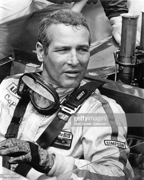 American actor Paul Newman as racing driver Frank Capua in 'Winning' directed by James Goldstone 1969