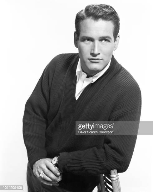 American actor Paul Newman , circa 1955.