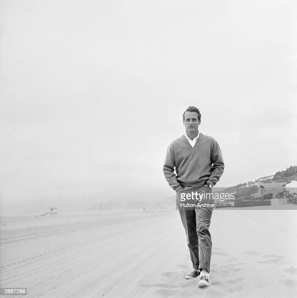 American actor Paul Newman circa 1958
