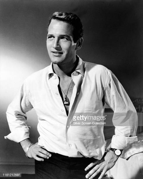 American actor Paul Newman , circa 1960.