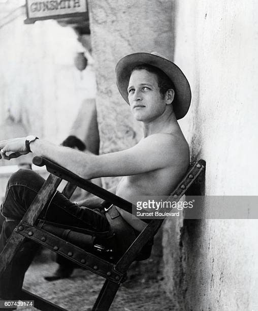 American actor Paul Newman in Arthur Penn's movie The Left Handed Gun