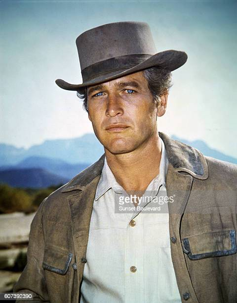 American actor Paul Newman on the set of Butch Cassidy and the Sundance Kid directed by George Roy Hill