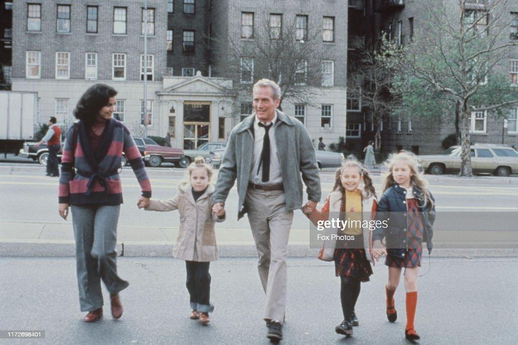 Paul Newman In The Bronx : News Photo