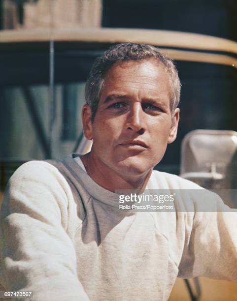 American actor Paul Newman pictured in character as Hank Stamper during production of the film 'Sometimes a Great Notion' in the United States in...