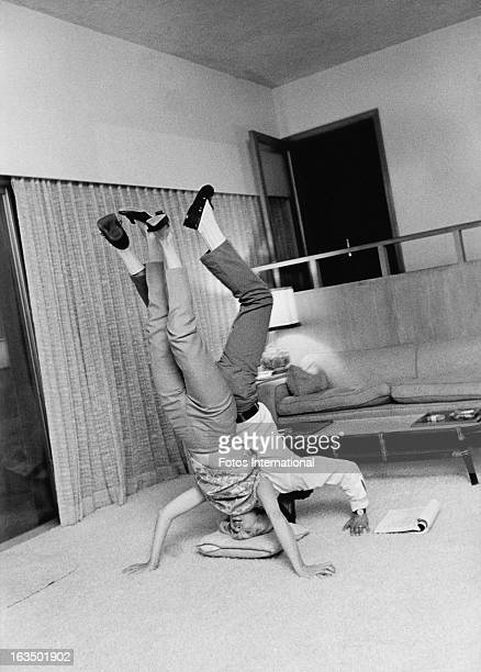 American actor Paul Newman with his wife actress Joanne Woodward circa 1963