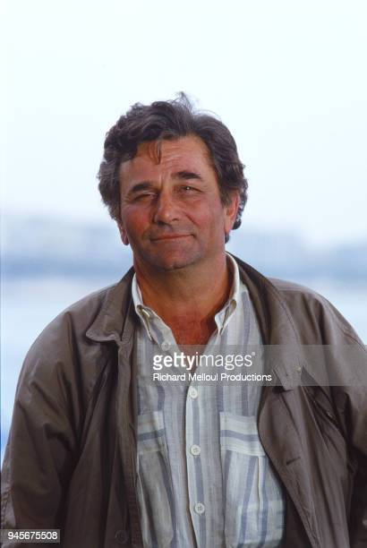 American actor Peter Falk at the photo call in the Cannes Film Festival 17th May 1987