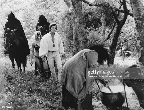 American actor Peter Fonda in a scene from 'The Trip' California USA 1966 The film was written by Jack Nicholson directed by Roger Corman and...