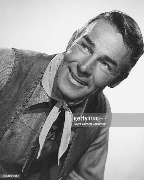 American actor Randolph Scott circa 1940