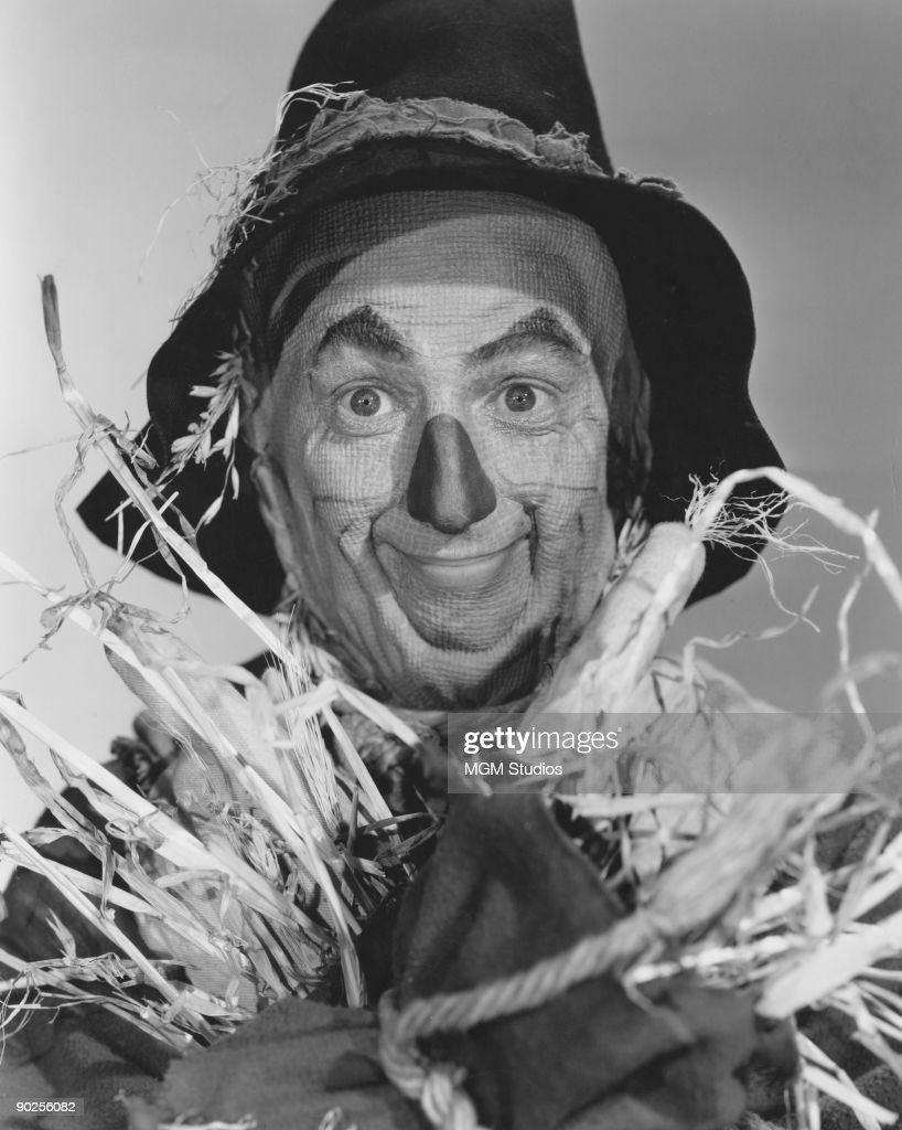 American actor Ray Bolger (1904 - 1987) as The Scarecrow in the MGM film 'The Wizard of Oz', 1939.