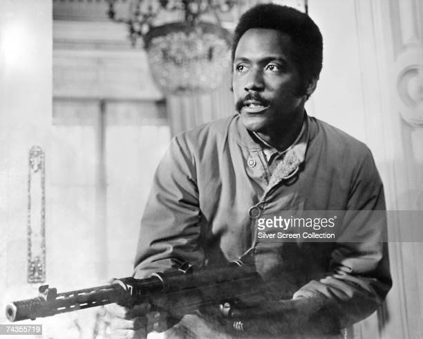American actor Richard Roundtree in a scene from 'Shaft In Africa' directed by John Guillermin 1973