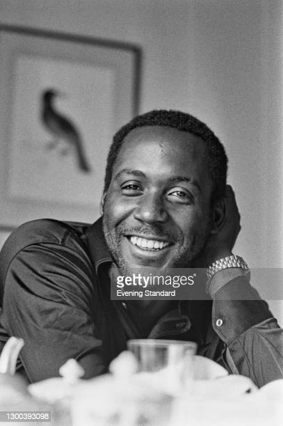 American actor Richard Roundtree, UK, 4th August 1972. He is best known for his role as private detective John Shaft in the 'Shaft' movies.