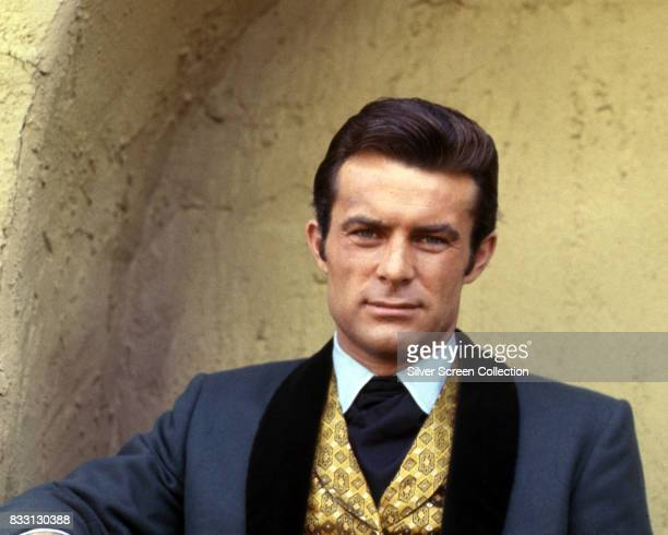 American actor Robert Conrad as James T West in 'The Wild Wild West' television series that ran on CBS circa 1966