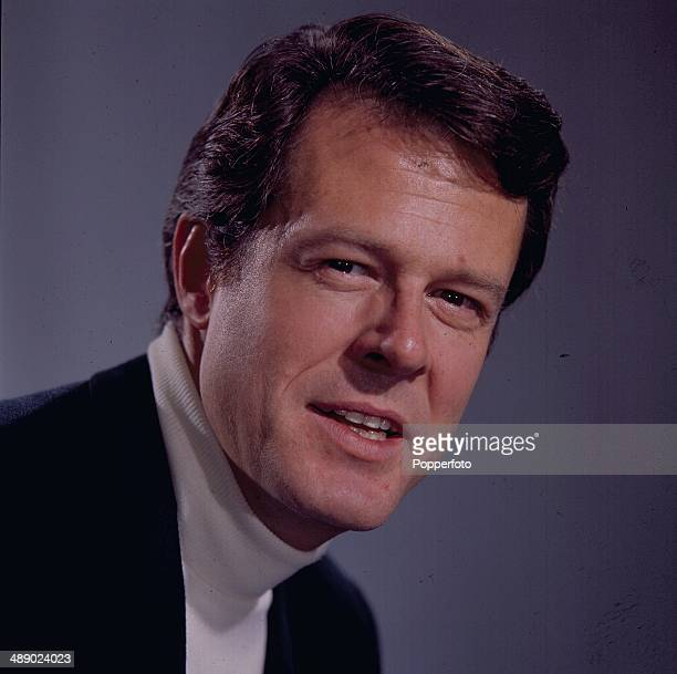 American actor Robert Culp posed on the set of the television series 'I Spy' in 1967