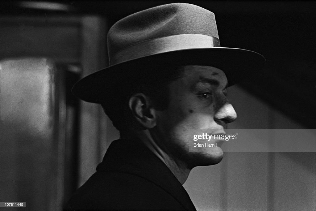 American actor Robert De Niro, as boxer Jake La Motta, in a scene from the Martin Scorsese-directed film 'Raging Bull,' 1980.