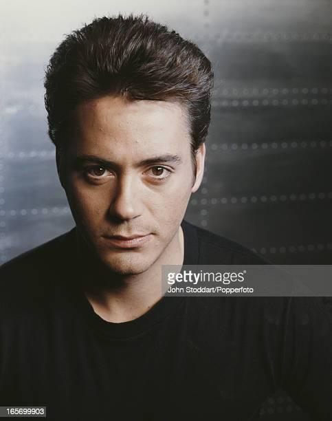 American actor Robert Downey Jr 1990
