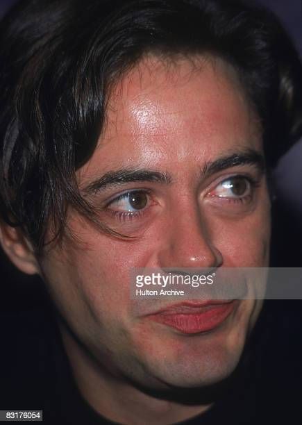 American actor Robert Downey Jr circa 1995