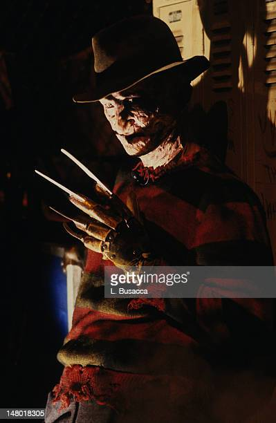 American actor Robert Englund poses in character as Freddy Krueger New York New York circa 1986