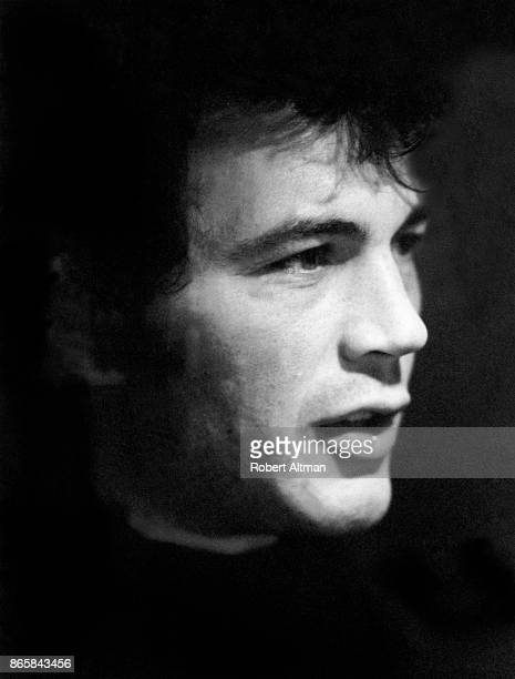American actor Robert Forster poses for a portrait while interviewing for the movie 'Medium Cool' circa September 1969 in San Francisco California