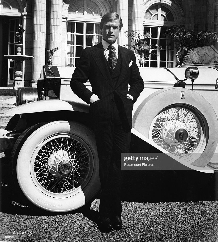 Robert Redford As 'The Great Gatsby' : News Photo