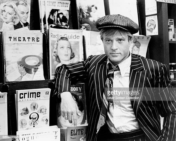 American actor Robert Redford as Johnny Hooker in the crime caper 'The Sting' directed by George Roy Hill 1973