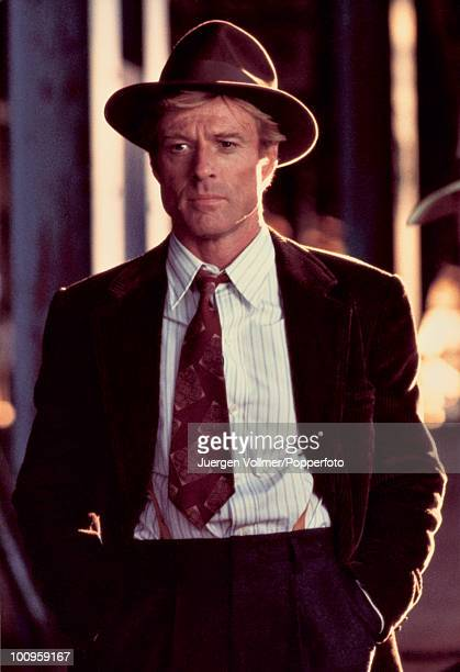 American actor Robert Redford stars in the film 'The Natural' 1983