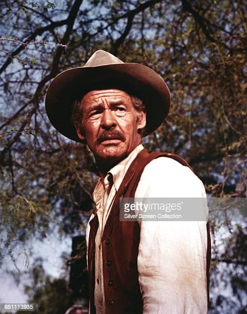 American actor Robert Ryan as Deke Thornton in the Sam Peckinpah western 'The Wild Bunch' 1969