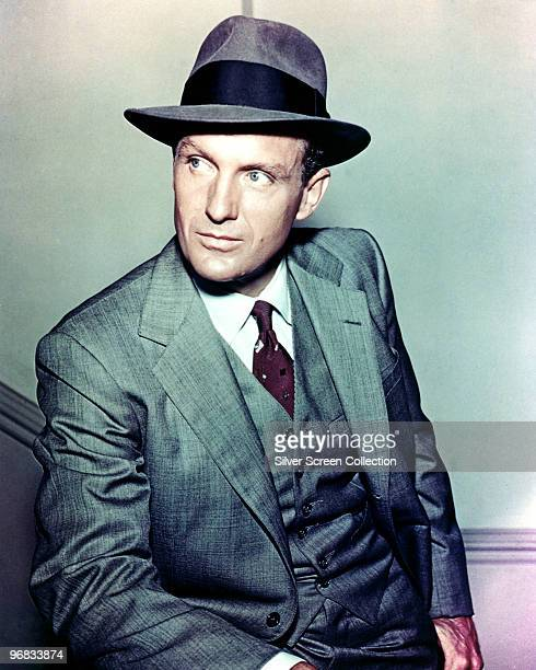 American actor Robert Stack stars as Special Agent Eliot Ness in the television series 'The Untouchables' circa 1960