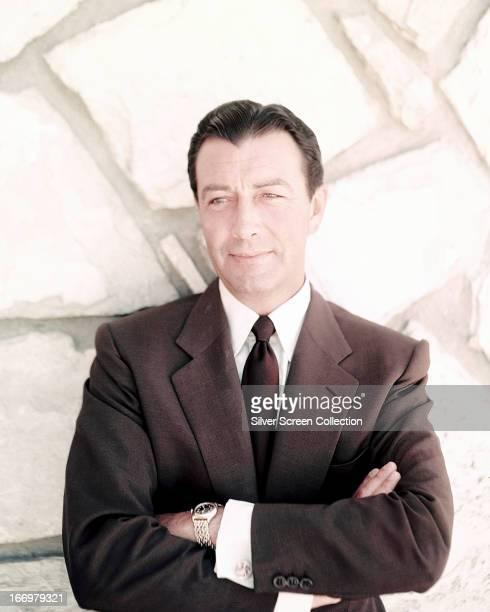 American actor Robert Taylor circa 1955