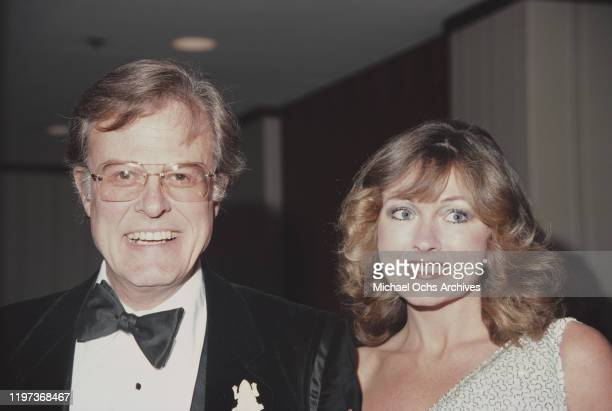 American actor, screenwriter and director Robert Culp with his wife Candace Faulkner, circa 1984.