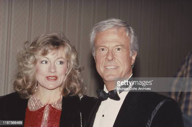 American actor, screenwriter and director Robert Culp with his wife Candace Faulkner, circa 1986.