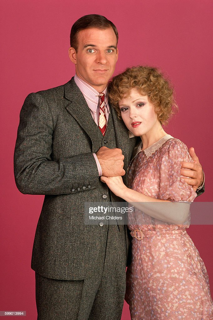 Steve martin comedian photos pictures of steve martin comedian american actor screenwriter and producer steve martin and actress bernadette peters on the set of mightylinksfo Images
