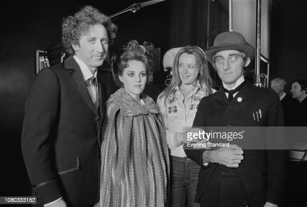 American actor screenwriter director producer singersongwriter and author Gene Wilder American actress comedian voice actress and singer Madeline...