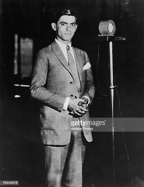 American actor singer and comedian Eddie Cantor 1923