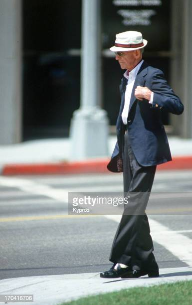 American actor singer and dancer Fred Astaire circa 1985