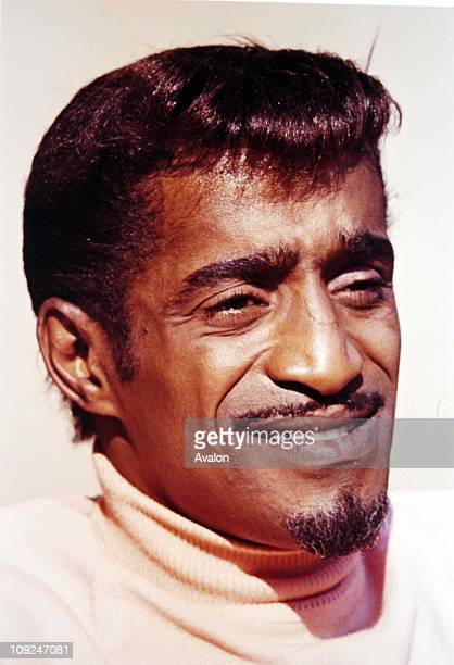 American Actor Singer and Dancer Sammy Davis Jr