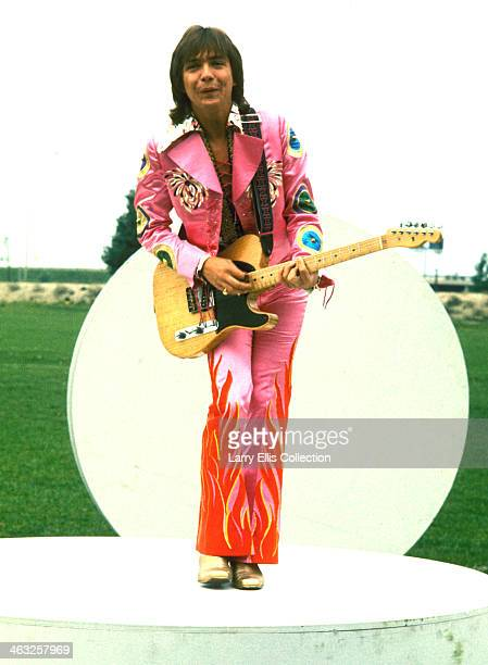 American actor singer songwriter and guitarist David Cassidy circa 1975