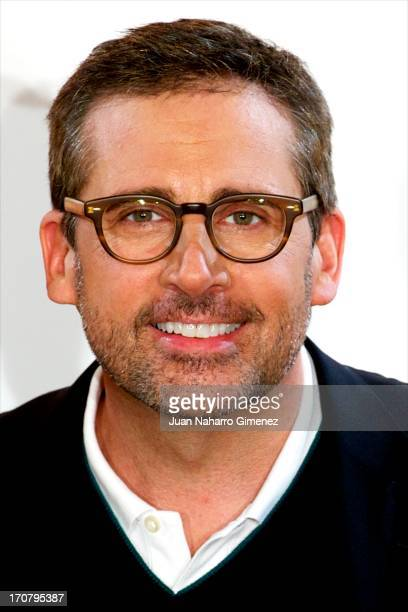 American actor Steve Carell attends 'Gru 2 Mi Villano Favorito' photocall at Villa Magna Hotel on June 18 2013 in Madrid Spain