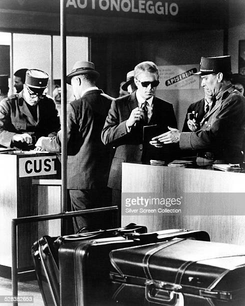 American actor Steve McQueen as Thomas Crown in 'The Thomas Crown Affair' directed by Norman Jewison USA 1968