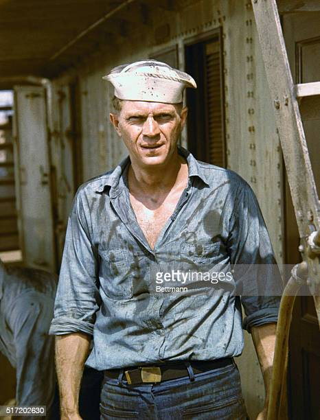 American actor Steve McQueen in a movie still from Sand Pebbles directed by Robert Wise