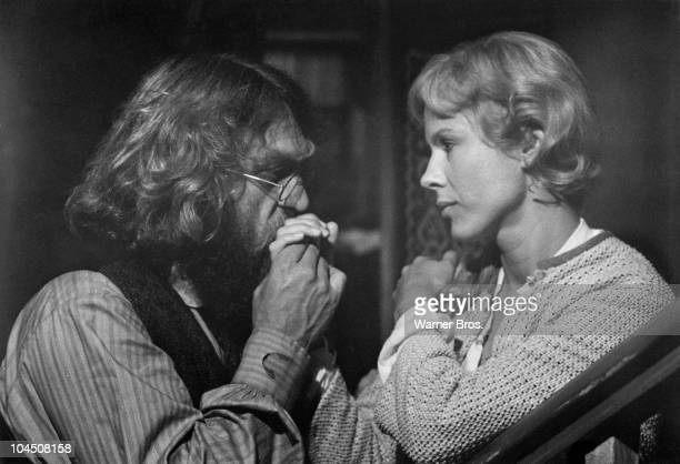 American actor Steve McQueen stars with Swedish actress Bibi Andersson in a movie adaptation of Ibsen's 'An Enemy of the People' 1978
