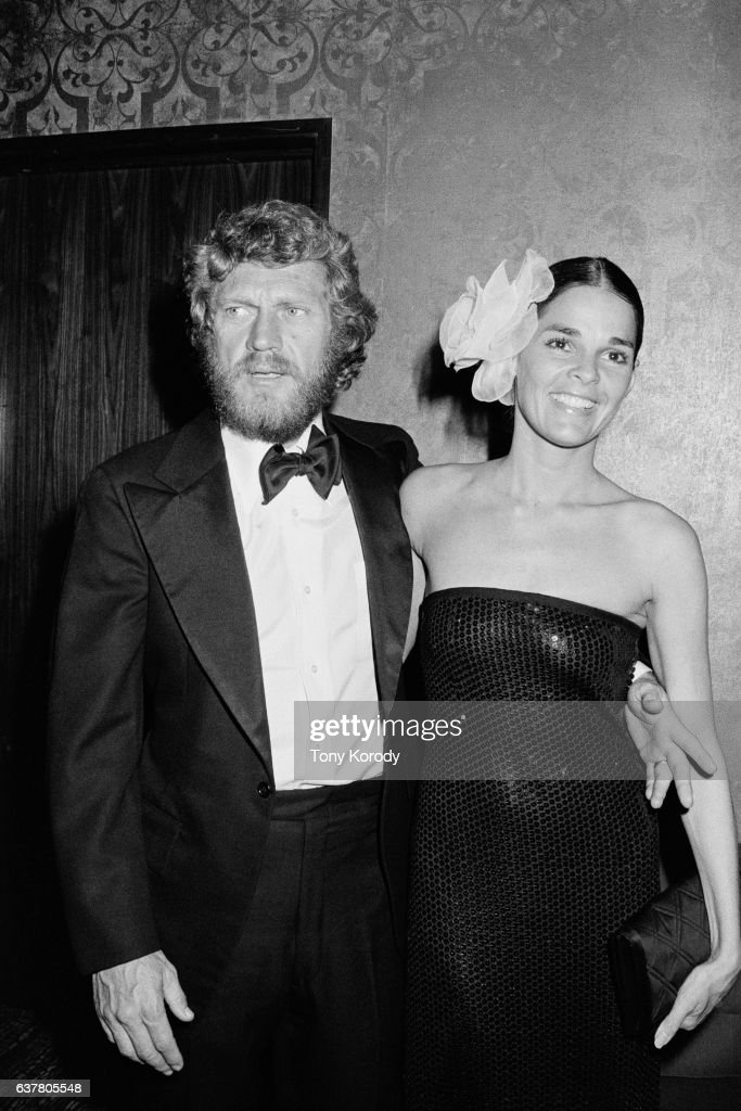 American actor Steve McQueen with his wife Ali MacGraw ...