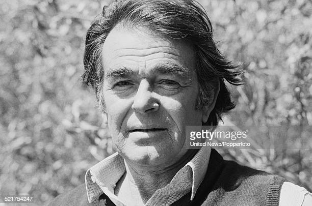 American actor Stuart Whitman pictured on the set of the film 'The Monster Club' in England on 2nd May 1980