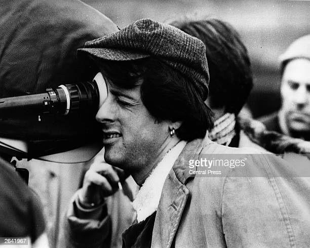 American actor Sylvester Stallone at work as director of the film 'Paradise Alley'