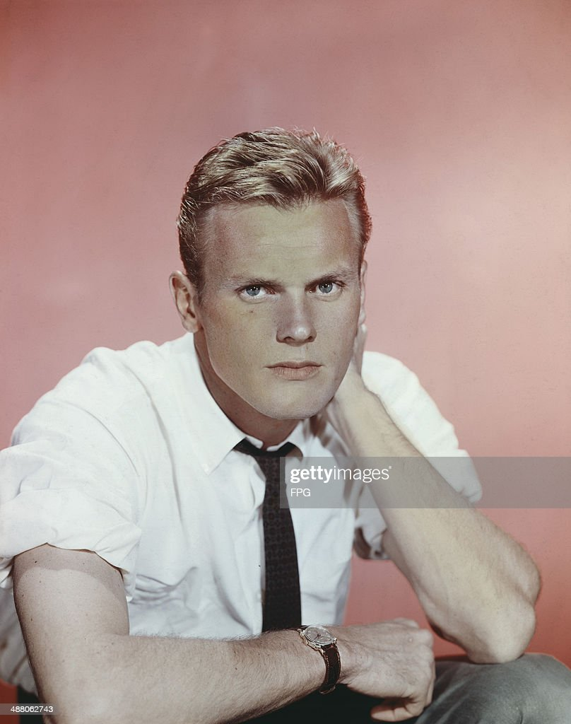 American actor Tab Hunter, circa 1955.