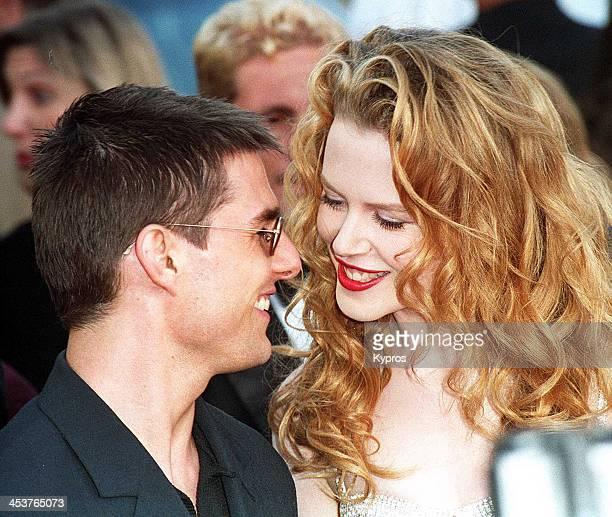 American actor Tom Cruise with his wife actress Nicole Kidman circa 1992