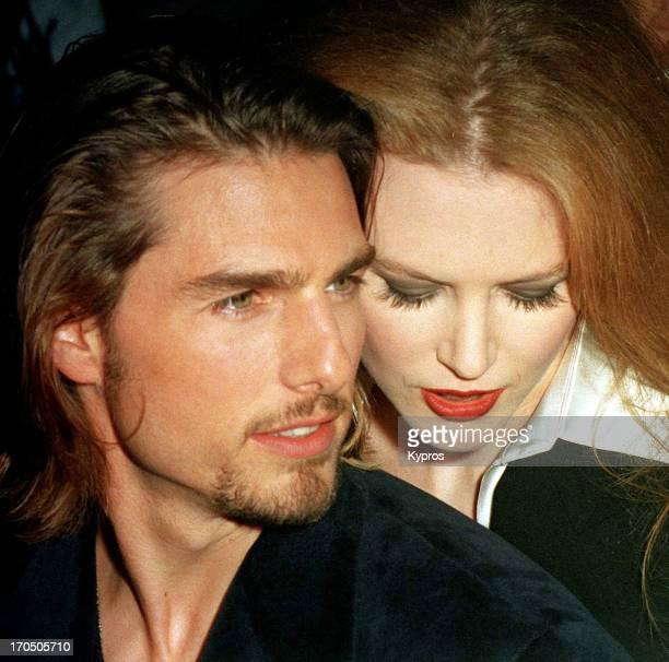 American actor Tom Cruise with his wife Nicole Kidman circa 1994
